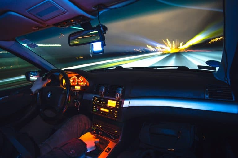 Fahrt bei Nacht