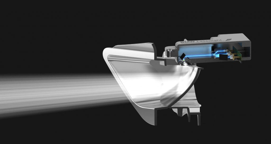 BMW Laserlight vom i8 - Funktionsweise