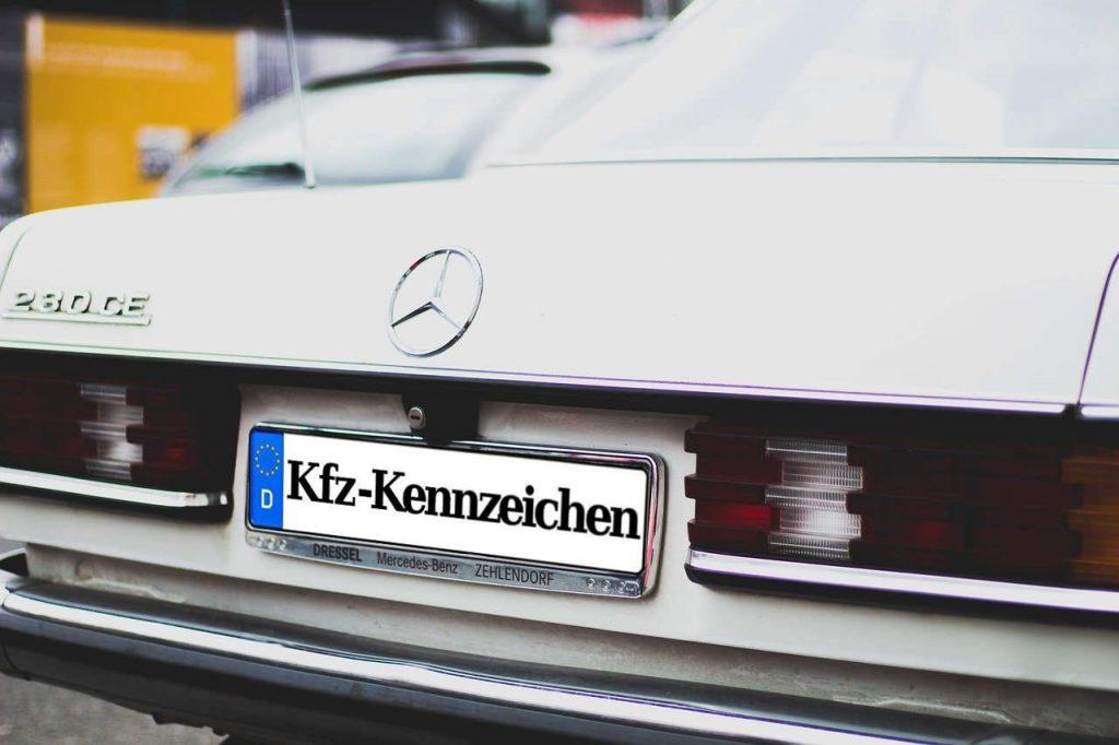 Deutsches Kfz-Kennzeichen